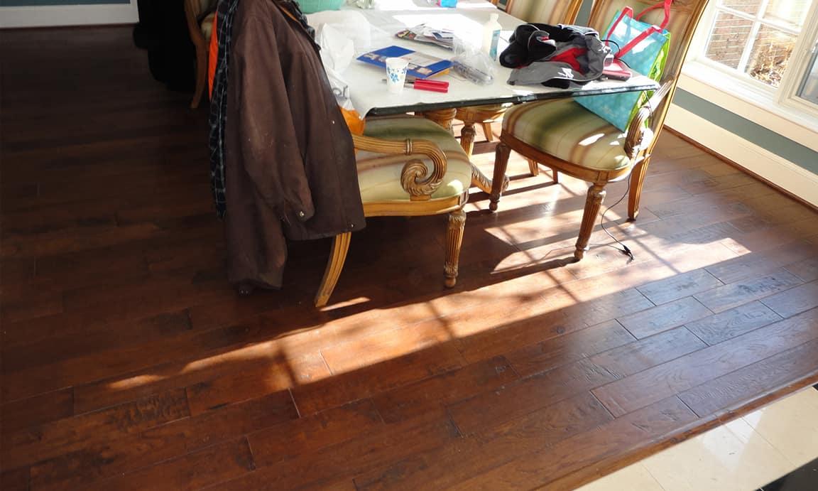 Travilah, Potomac MD – FSC Hard Wood Flooring