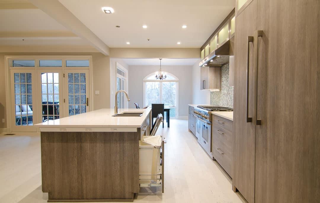 Avenil Potomac Townhome Kitchen All Eco Design Center
