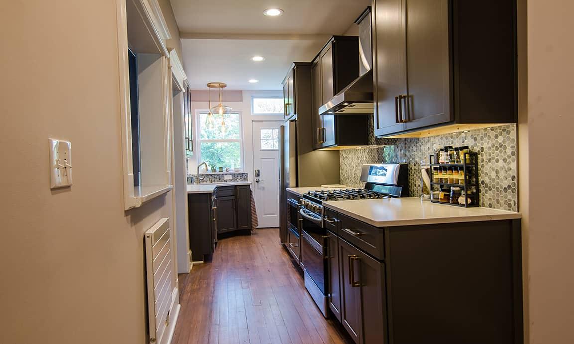 Bright wood, NW Washington DC – Kitchen